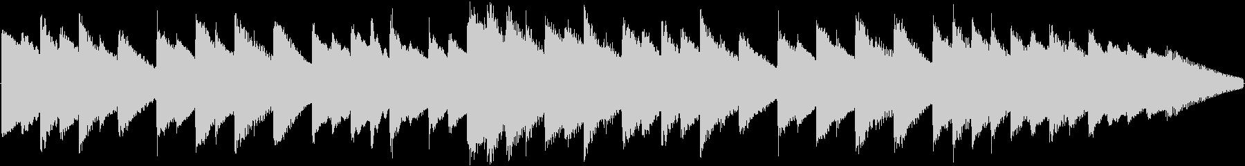 着信音などに使えるオルゴールBGMの未再生の波形