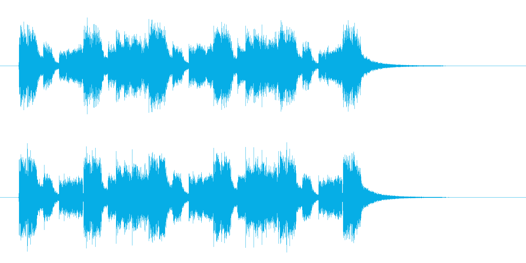 リズミカルな旋律が印象的なロックチューンの再生済みの波形