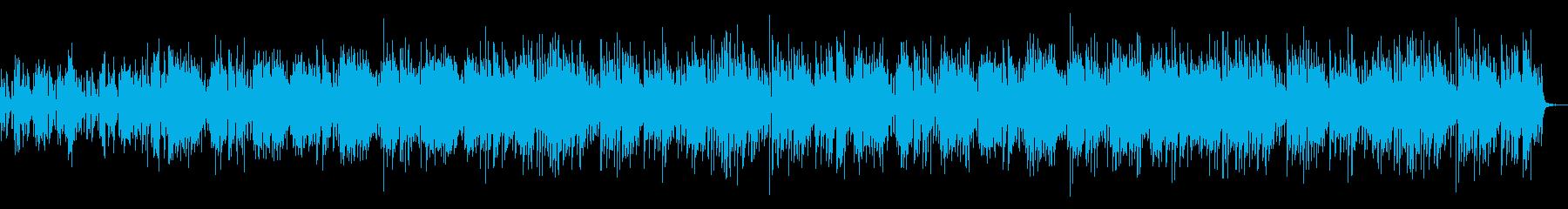 幸せをイメージした生演奏ウクレレポップの再生済みの波形
