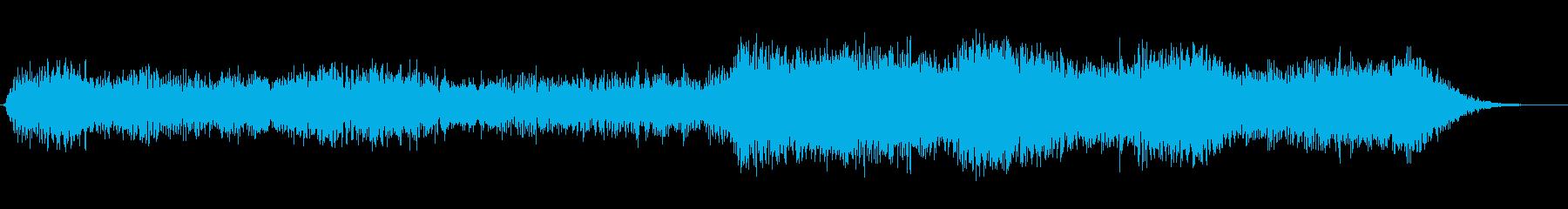 精神的なブレイクアウトの再生済みの波形