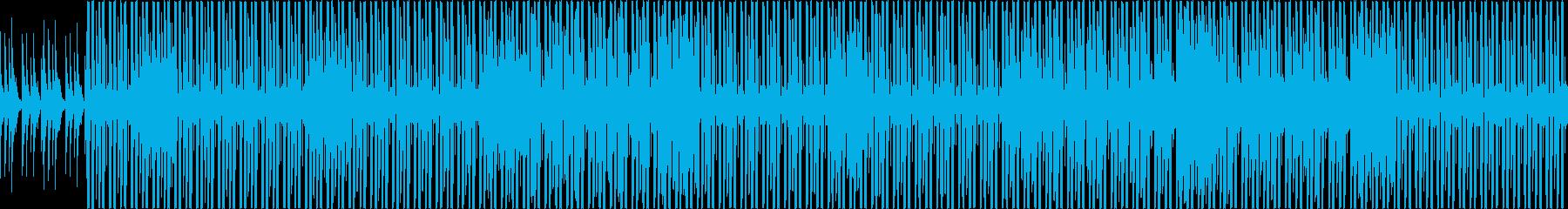 お洒落でクールな欧米クラブミュージックの再生済みの波形