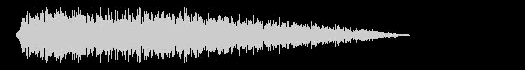 レーザー音-31-3の未再生の波形
