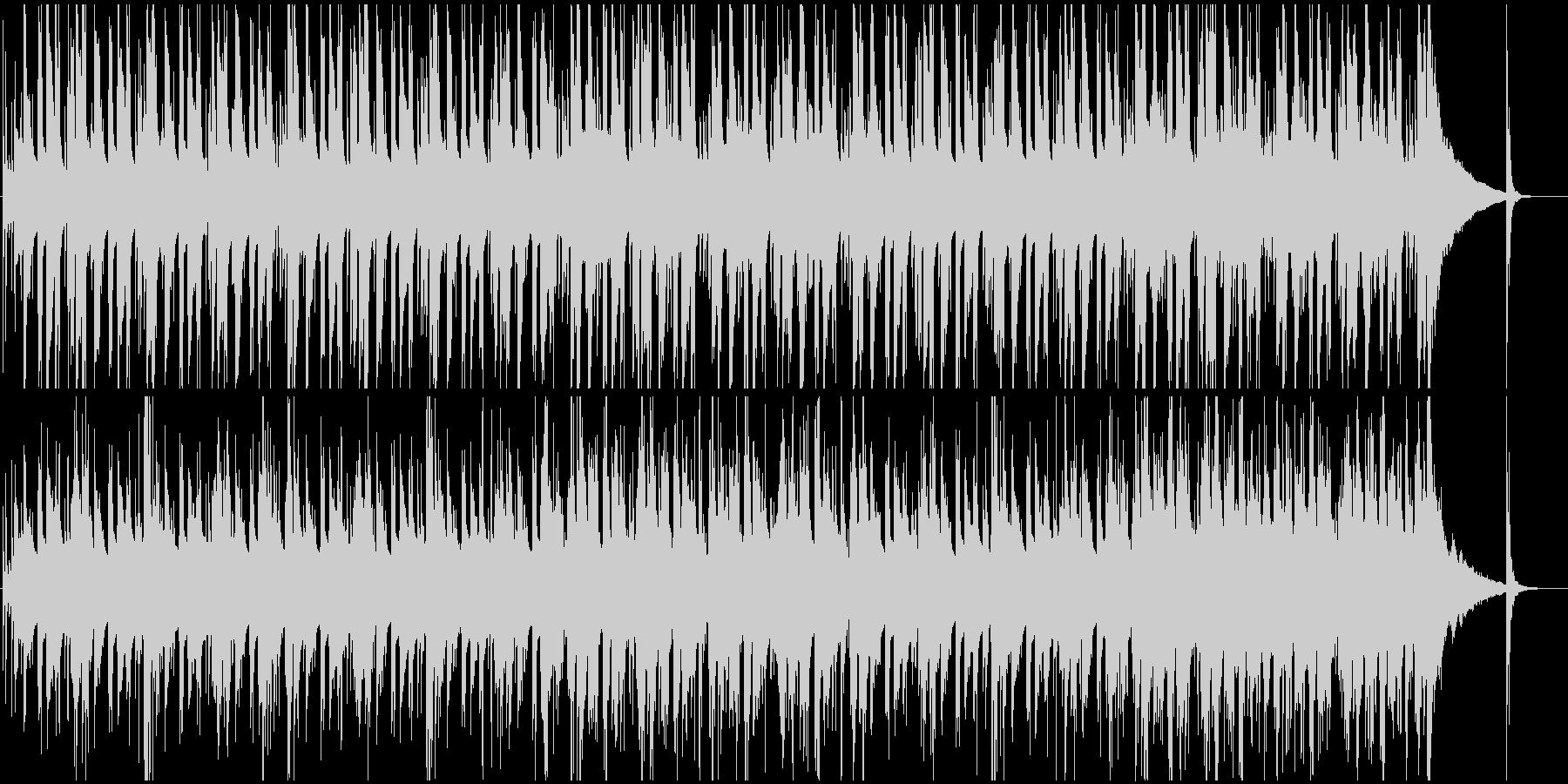 恐れや不安を感じるブルージーなBGMの未再生の波形