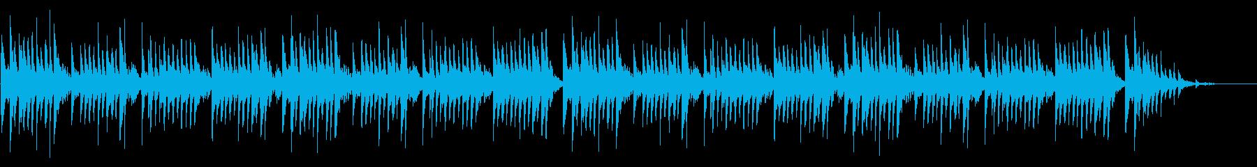 「夕焼け小焼け」シンプルな琴のアレンジの再生済みの波形