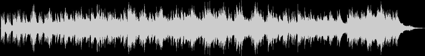 ピアノとシンバルのスクレープが弦と...の未再生の波形