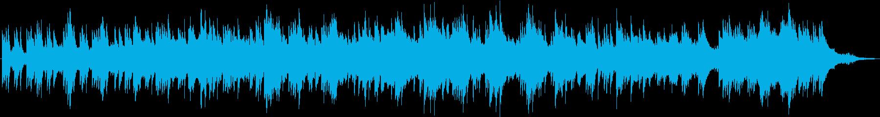 ピアノとシンバルのスクレープが弦と...の再生済みの波形