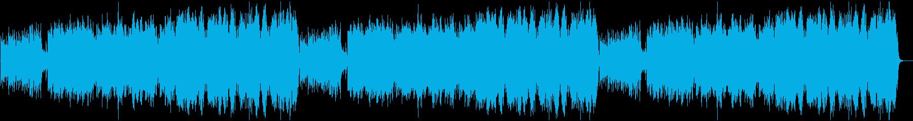 ニュースの天気予報・リラックスBGMにの再生済みの波形