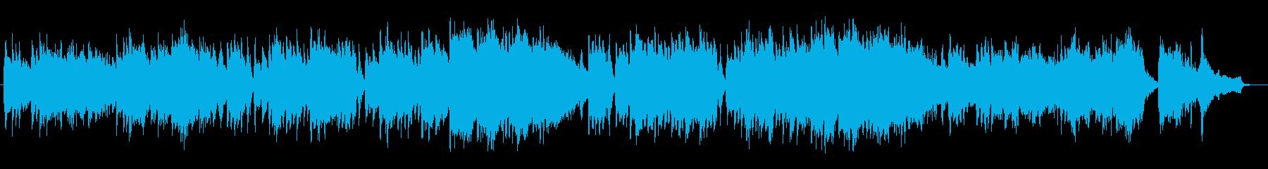 ドラマティックで切ないピアノ曲の再生済みの波形