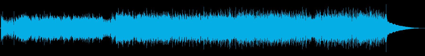 ゲームオープニング・かっこいいフラメンコの再生済みの波形