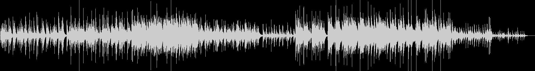 【ピアノ・バラード】綺麗なメロディー重視の未再生の波形