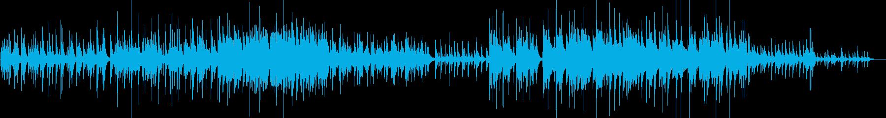 【ピアノ・バラード】綺麗なメロディー重視の再生済みの波形