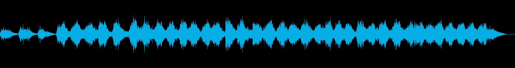 海底を思わすリラクゼーションミュージックの再生済みの波形