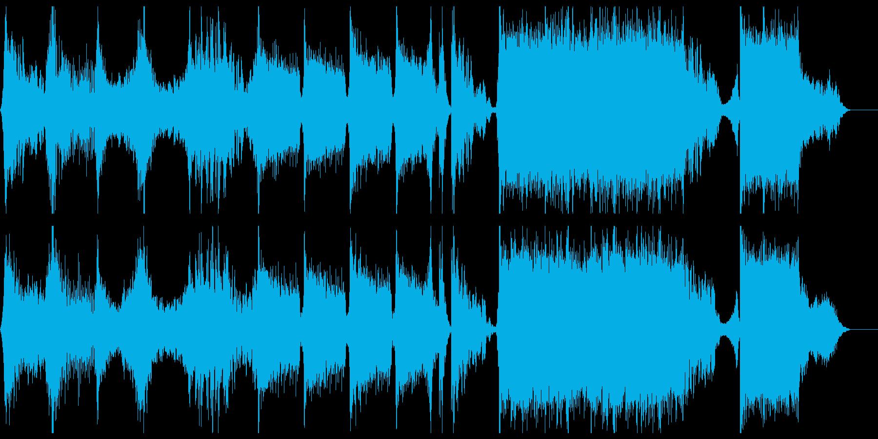 映画予告編 アクションバトルトレイラーの再生済みの波形