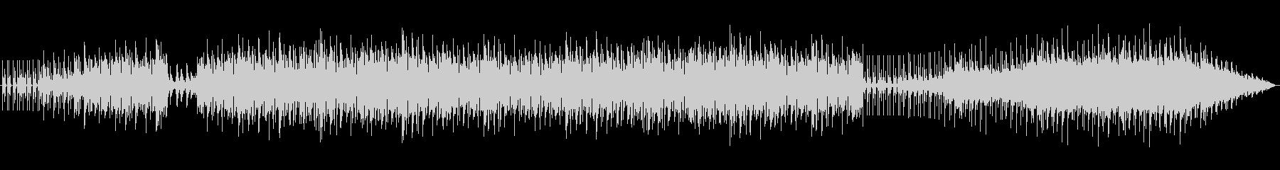 ピアノの美しい和音のループ系グルーヴの未再生の波形
