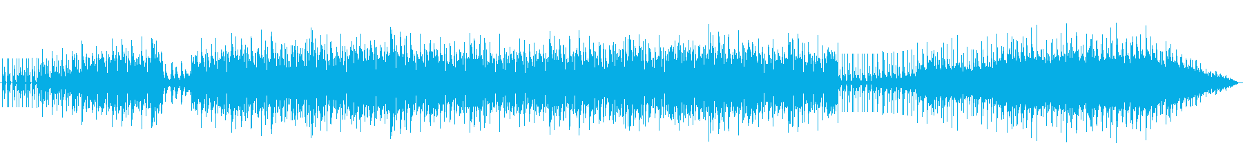 ピアノの美しい和音のループ系グルーヴの再生済みの波形