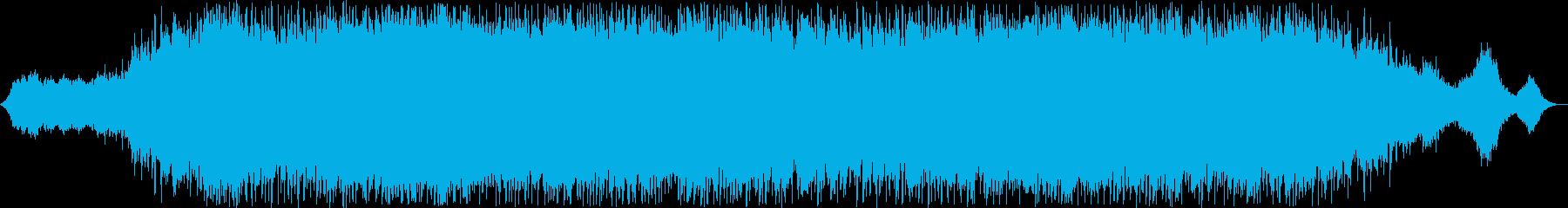 切ないギター街の音サウンドの再生済みの波形