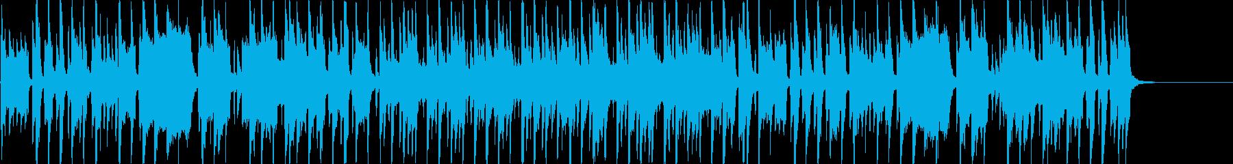 明るく元気の良いアイリッシュケルトBGMの再生済みの波形