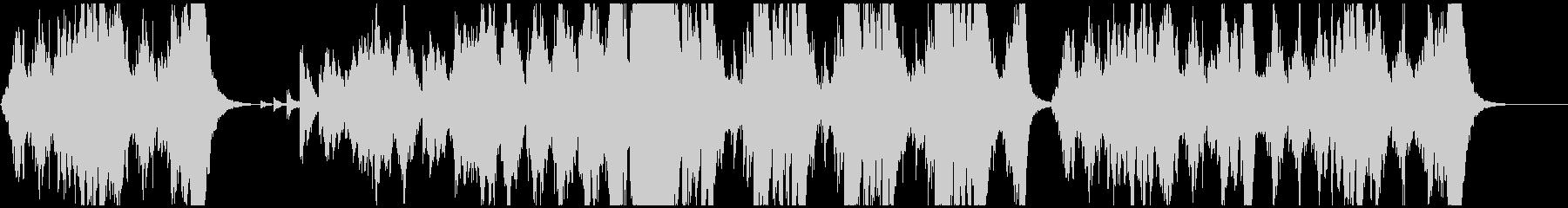 一分間のオーケストラの未再生の波形