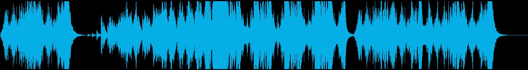 一分間のオーケストラの再生済みの波形
