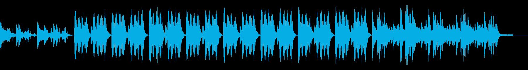 不気味で拍子感が掴めないクラシックの再生済みの波形