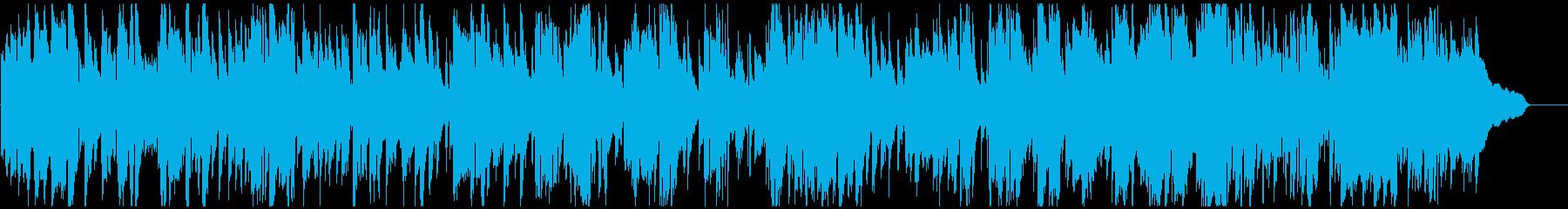 綺麗で優雅なアルトサックスのジャズワルツの再生済みの波形