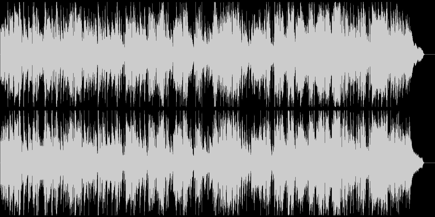 綺麗で優雅なアルトサックスのジャズワルツの未再生の波形