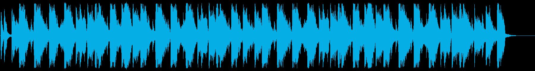 ディスコジングルの再生済みの波形