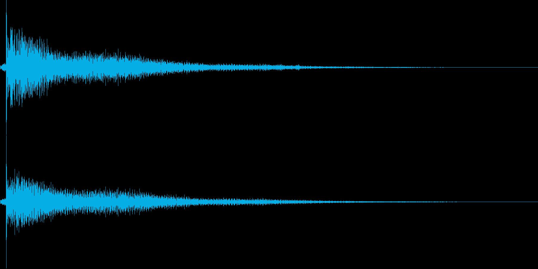 鐘 1の再生済みの波形