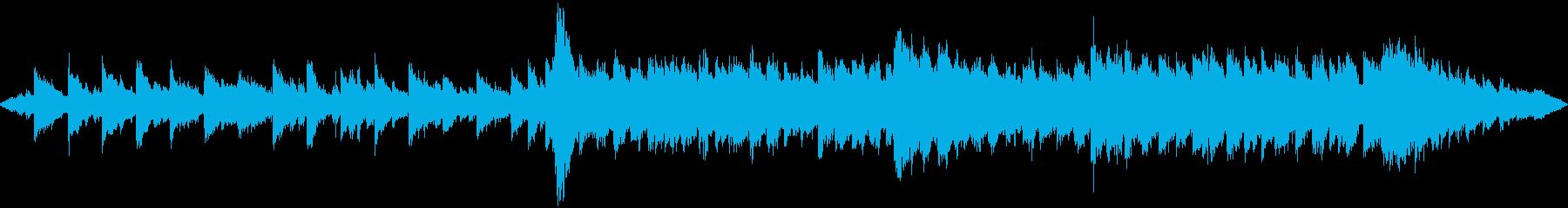 ピアノのハーモニー重視のスロー曲です。の再生済みの波形