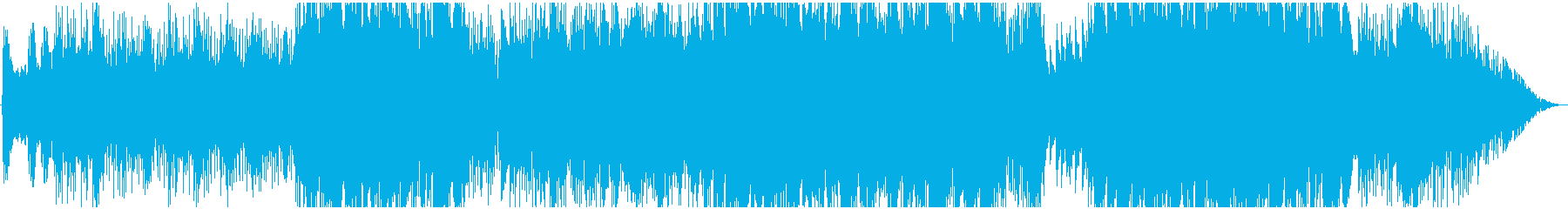 漂うような浮遊感のヒーリング曲*メロ抜きの再生済みの波形