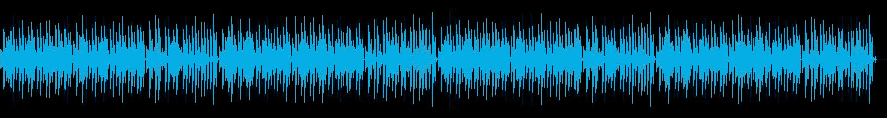 ほのぼの脱力系「おめでとうクリスマス」の再生済みの波形