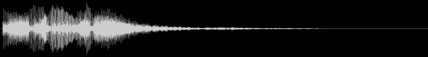 ダダダン(スタート・ストップ)の未再生の波形