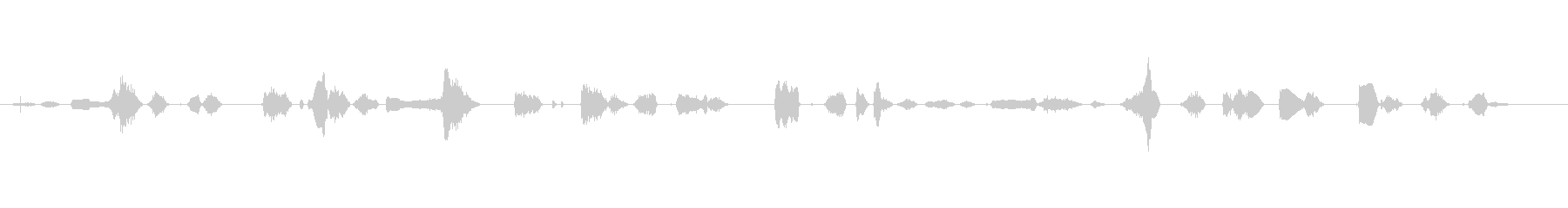 鳴き声 女性のワイン03の未再生の波形