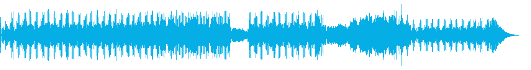 電子楽器。風変わりな、ロボット。機...の再生済みの波形