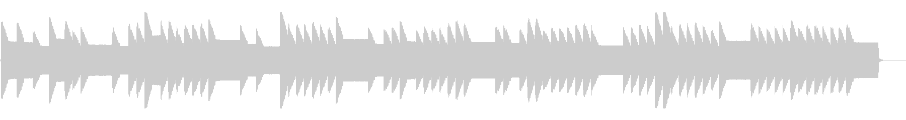 横断歩道 誘導音-4_通りゃんせ_dryの未再生の波形