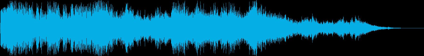 激しいラウドメタルクラッシュとロン...の再生済みの波形