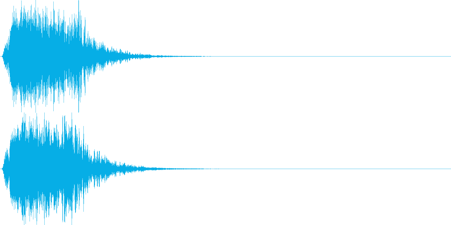 シャキーン(刀や剣、光、輝き、魔法)1bの再生済みの波形