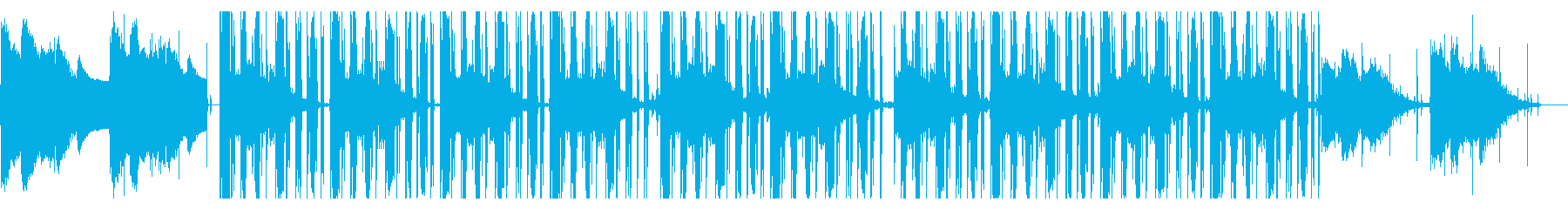 静かで幻想的なチル・ヒップホップの再生済みの波形
