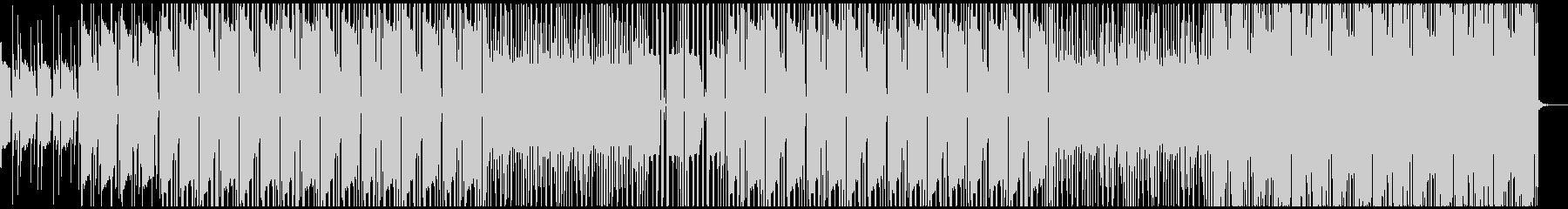洋楽 大人ローファイビート ピアノギターの未再生の波形