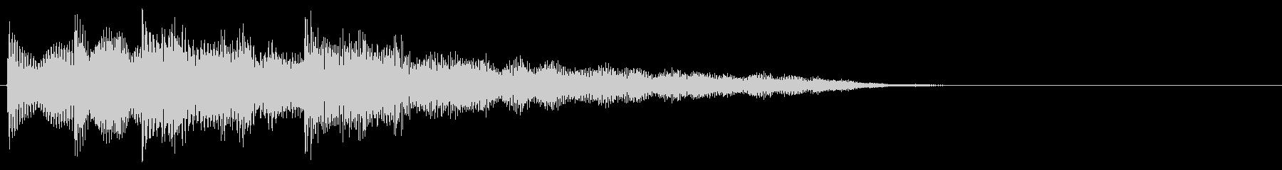 マレット系 ATМ風のフレーズ2(特)の未再生の波形