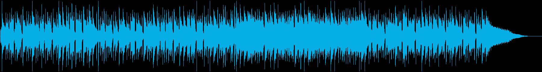 日常のシーンに合いそうなピアノ曲の再生済みの波形