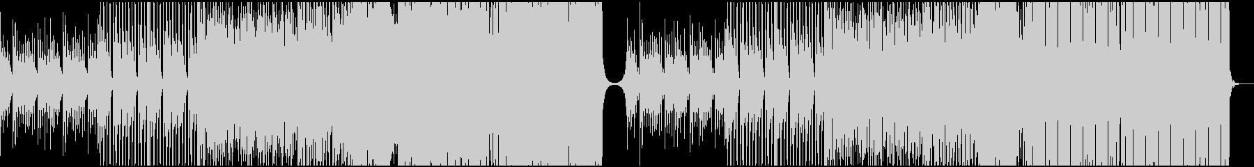 切ない雰囲気のEDMの未再生の波形