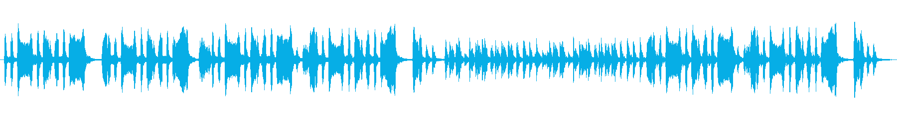 怪しげな森・ケルト風BGMの再生済みの波形