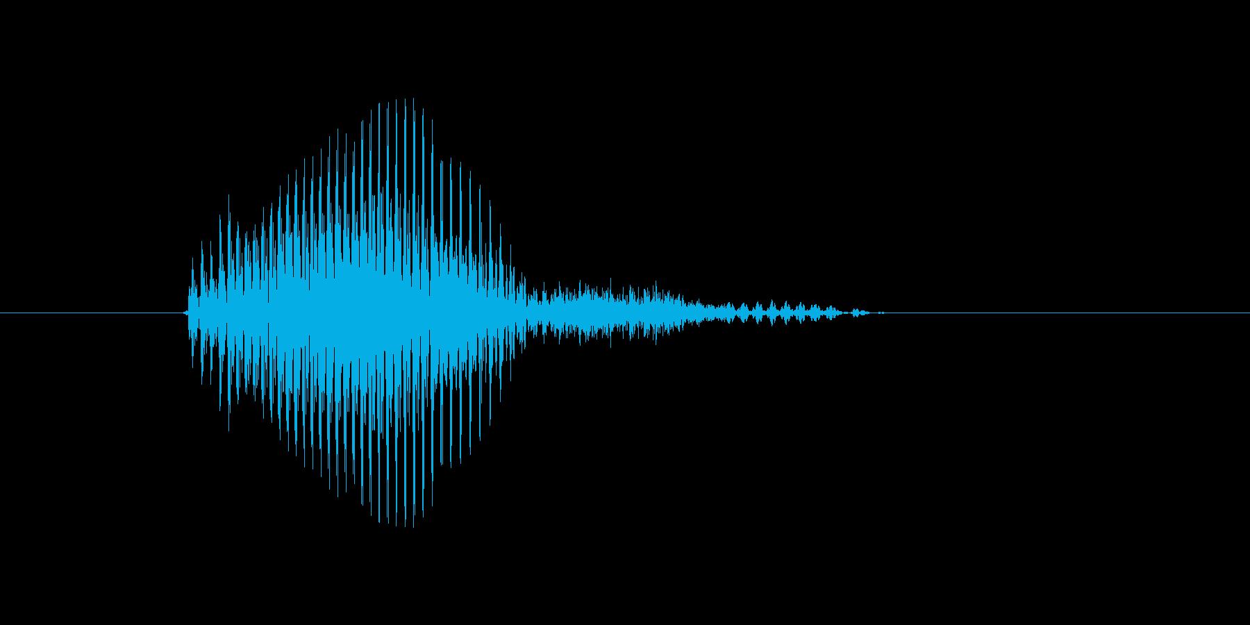 エースの再生済みの波形