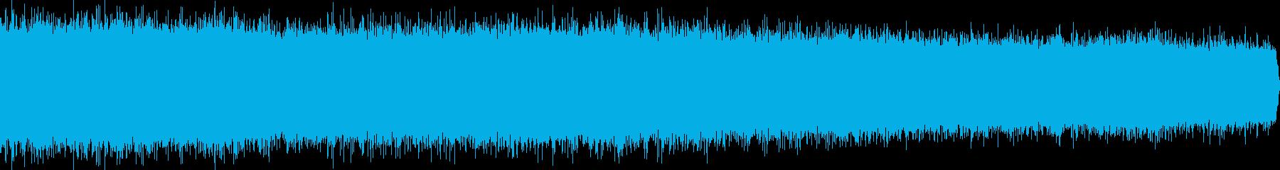 シューという音の再生済みの波形