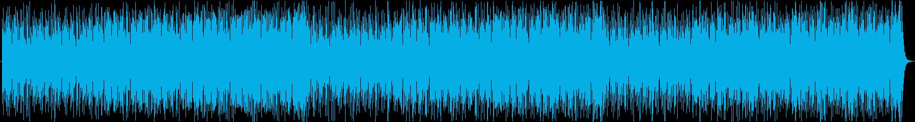軽快切ない哀愁レゲエラテンヒップホップaの再生済みの波形
