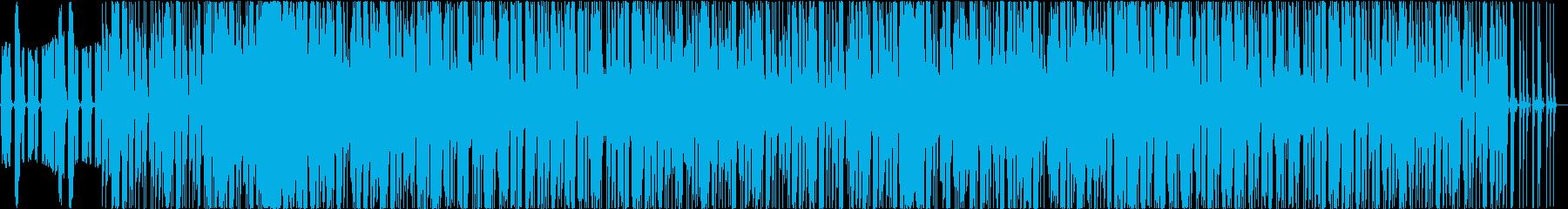 オールドスクールっぽいBGMの再生済みの波形