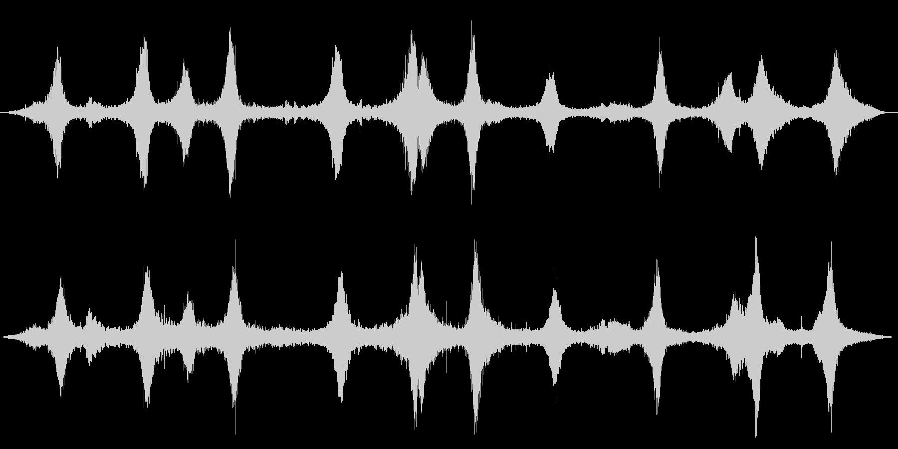 ツーレーンシティストリート:Wet...の未再生の波形