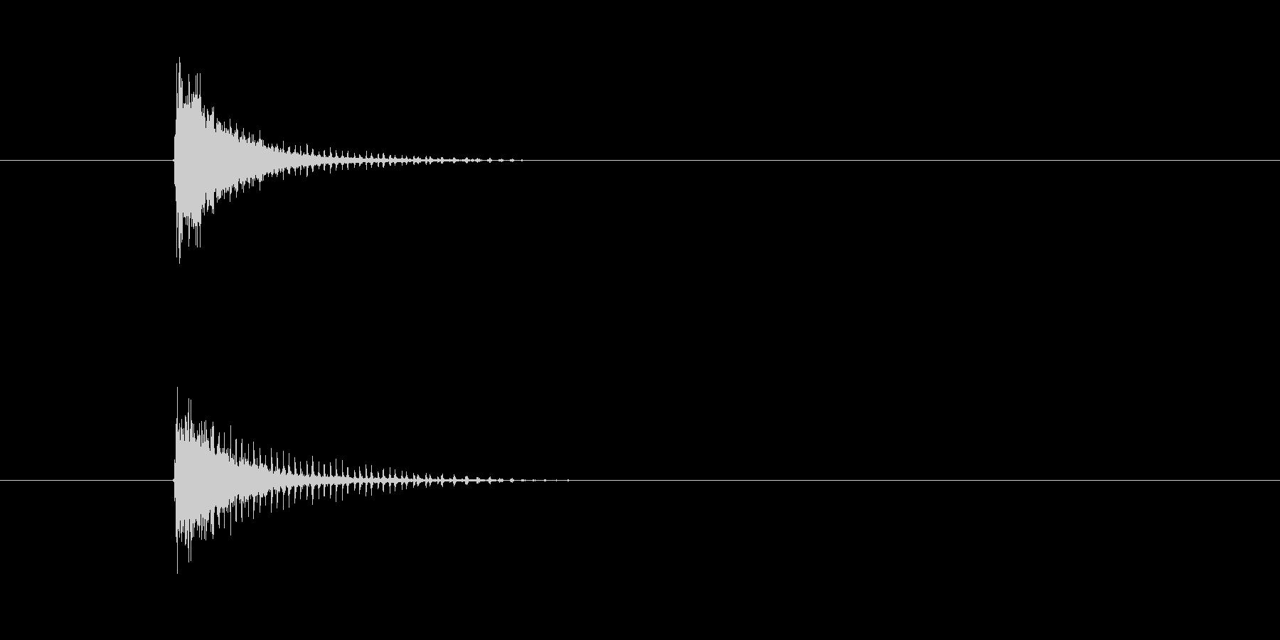 シンバル ビブスラップ (すからららぁ)の未再生の波形