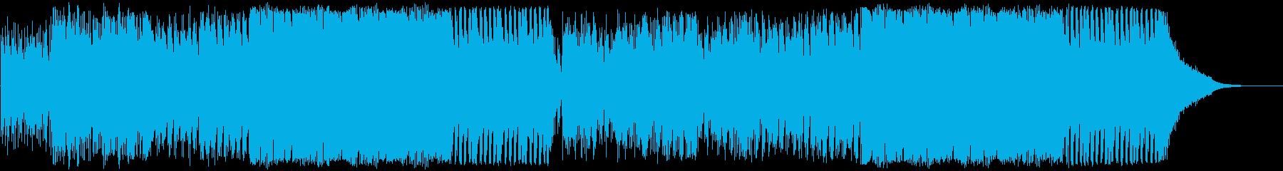コミカルなクラシック、フルオーケストラの再生済みの波形